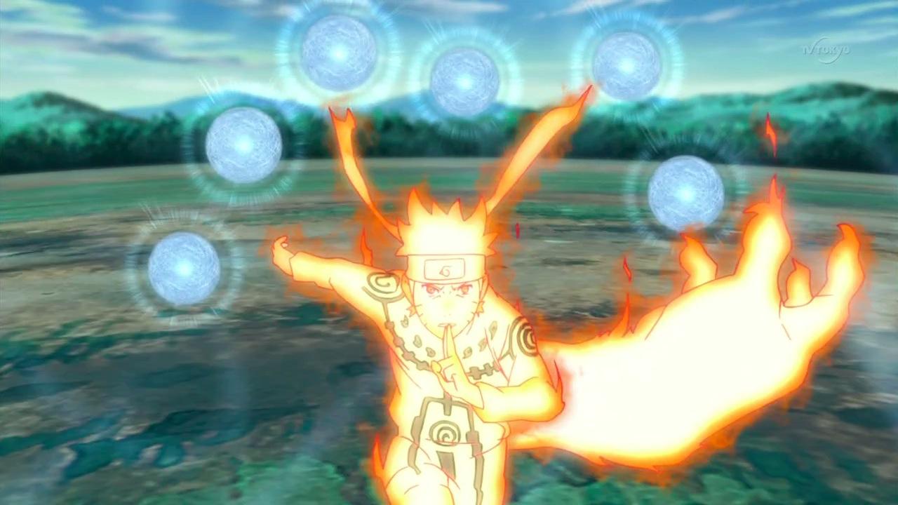 Naruto in war