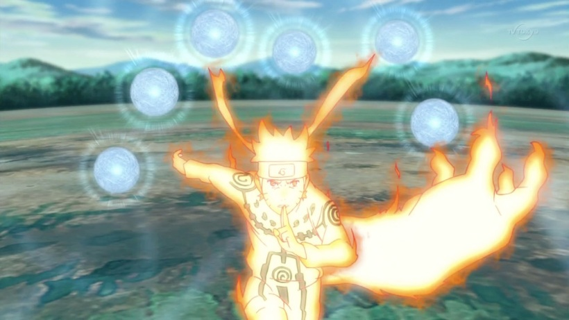 Naruto in war