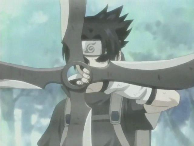 Sasuke deamon shuriken