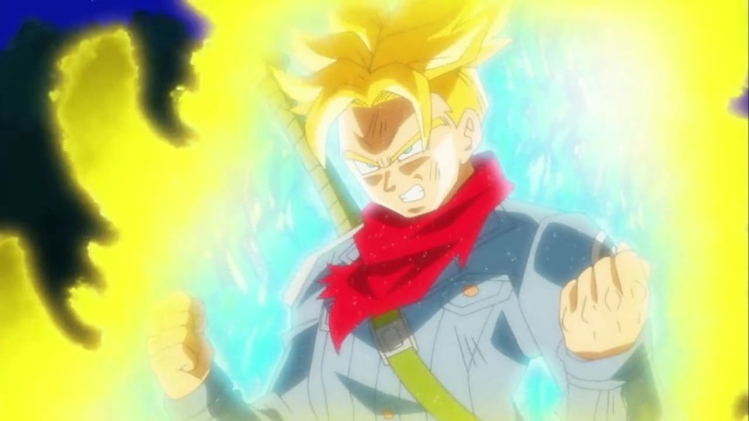 Trunks power up