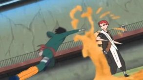 naruto-rock-lee-vs-gaara